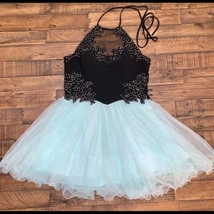 Plus size homecoming/prom dress
